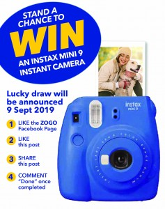 Zogo Instax camera Competition